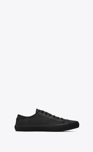 sneakers bedford nere in pelle