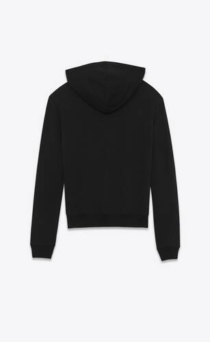 saint laurent logo hoodie