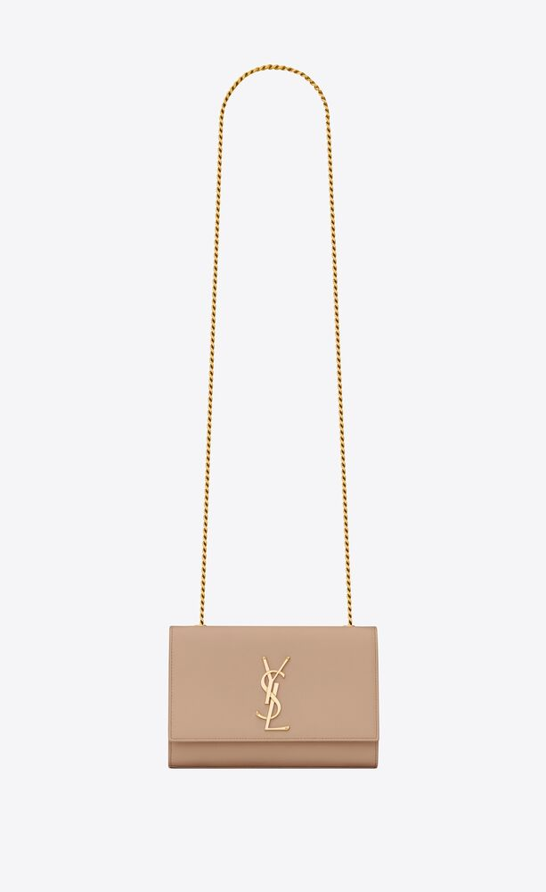kate small chain bag in grain de poudre embossed leather