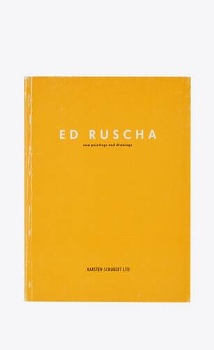ed ruscha new paintings and drawings