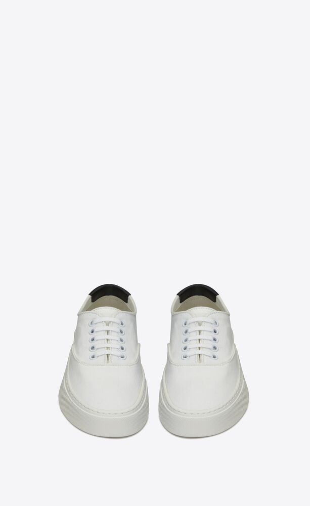 venice sneakers in canvas and leather