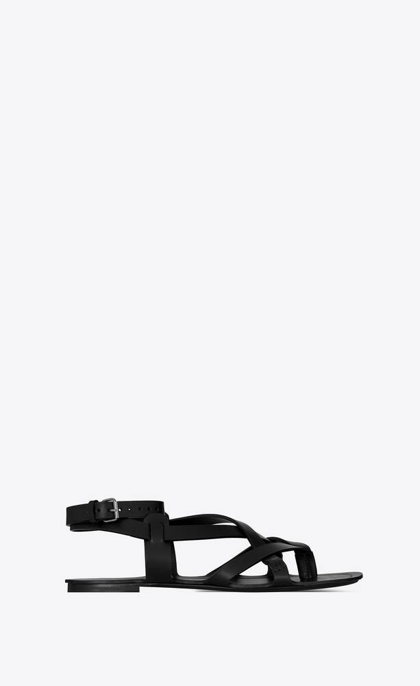 culver sandals in smooth leather