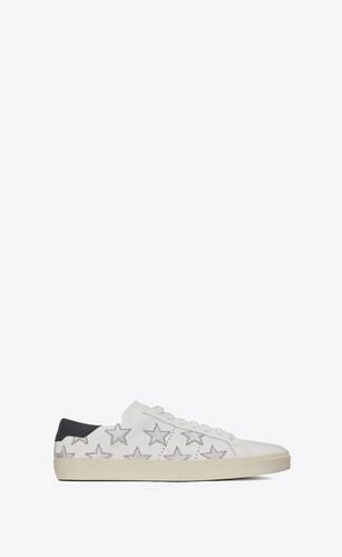 court classic sl/06 metallic california sneakers in leather