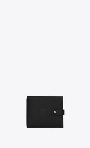 sac de jour souple east/west wallet in grained leather