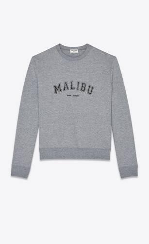 """""""malibu saint laurent"""" sweatshirt"""