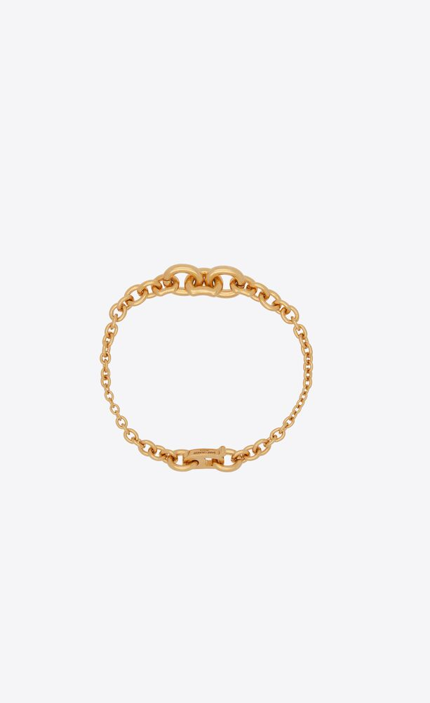 mini graduated chain bracelet