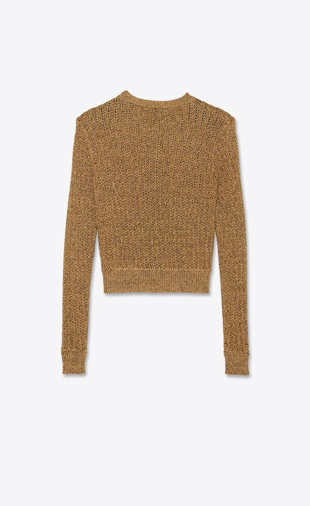 lamé-tweed-strickpullover