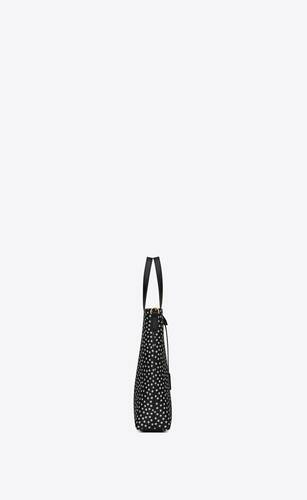 shopping bag saint laurent toy n/s in dotted supple leather