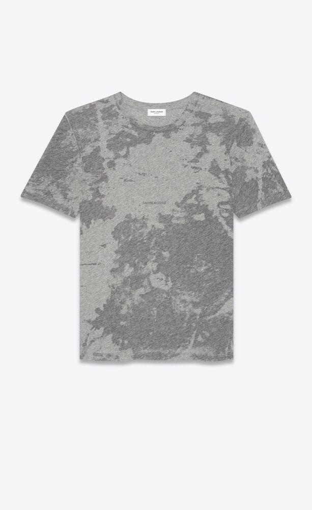saint laurent rive gauche dévoré t-shirt