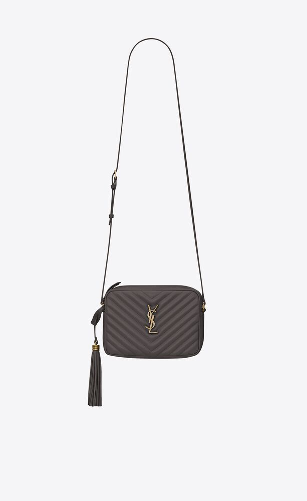 lou medium satchel in quilted smooth leather
