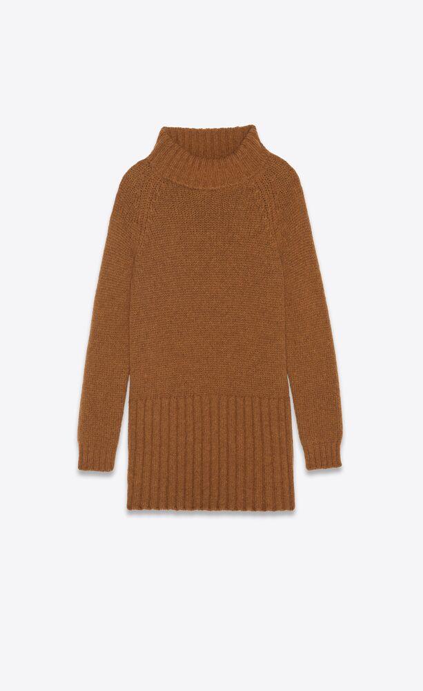 sweater dress in alpaca and wool