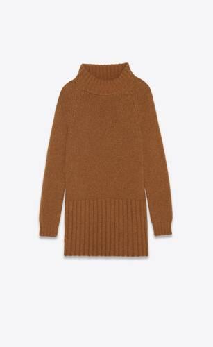 pulloverkleid aus alpaka und wolle