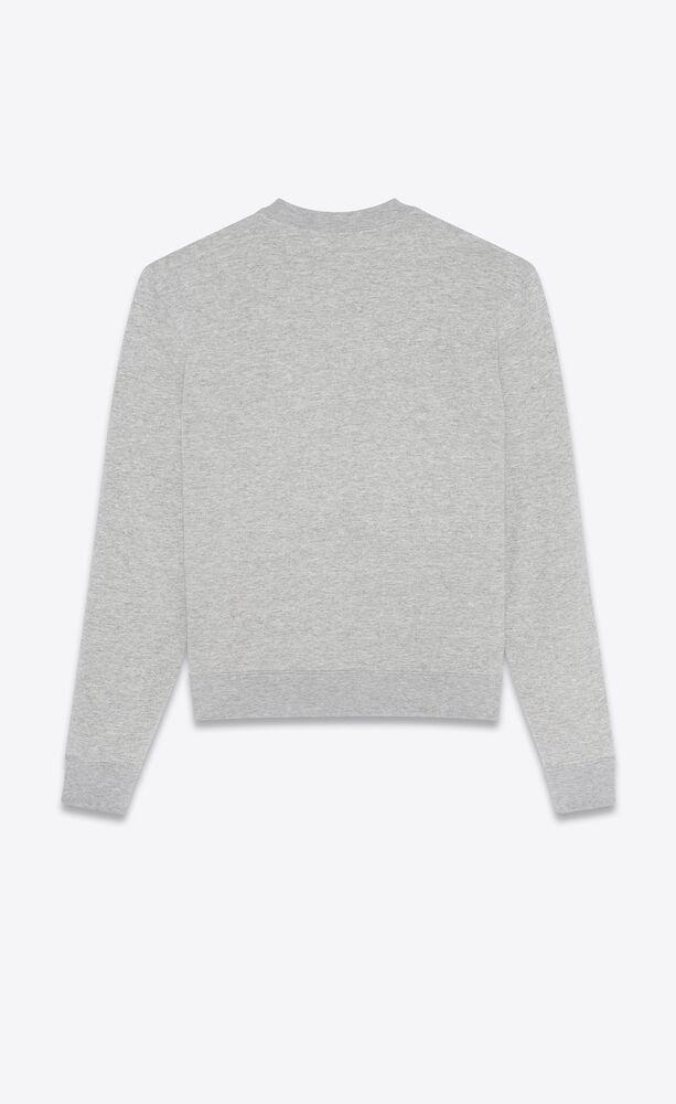 """saint laurent snoopy"" sweatshirt"