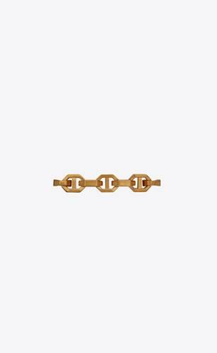 bracelet à maille ancre oversize en or jaune 18 carats