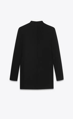 vestido túnica de punto de lana