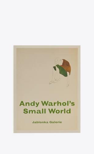 """andy warhol  """"small world"""""""