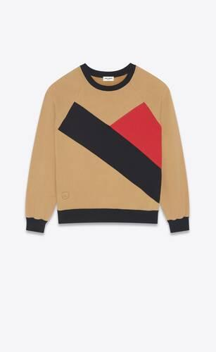 round-neck sweater in soft fleece