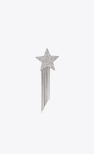 stars & love sternbrosche mit metallketten