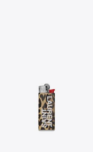 leopard heart lighter