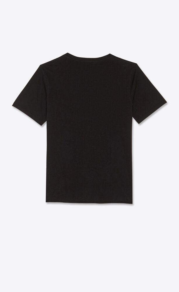"""t-shirt aus jacquard mit gebrochenem """"saint laurent""""-herz"""