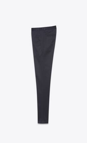 chino pants in raw stretch gabardine