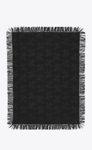 long sarong in silk palm jacquard