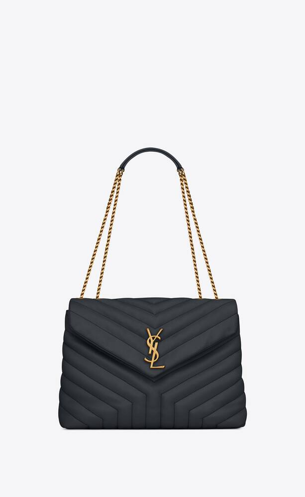 """loulou medium bag in """"y""""-quilted leather"""