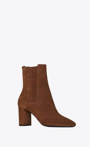 lou chelsea boots in suede