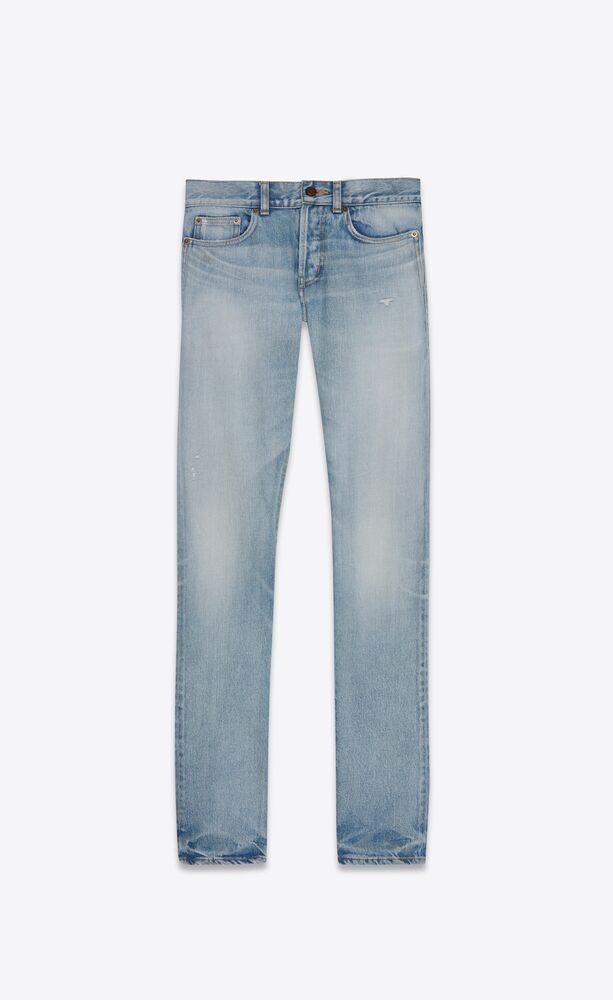 slim-fit jeans in light fall blue denim