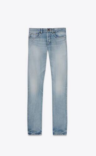 slim-fit jeans in light fall blue denim