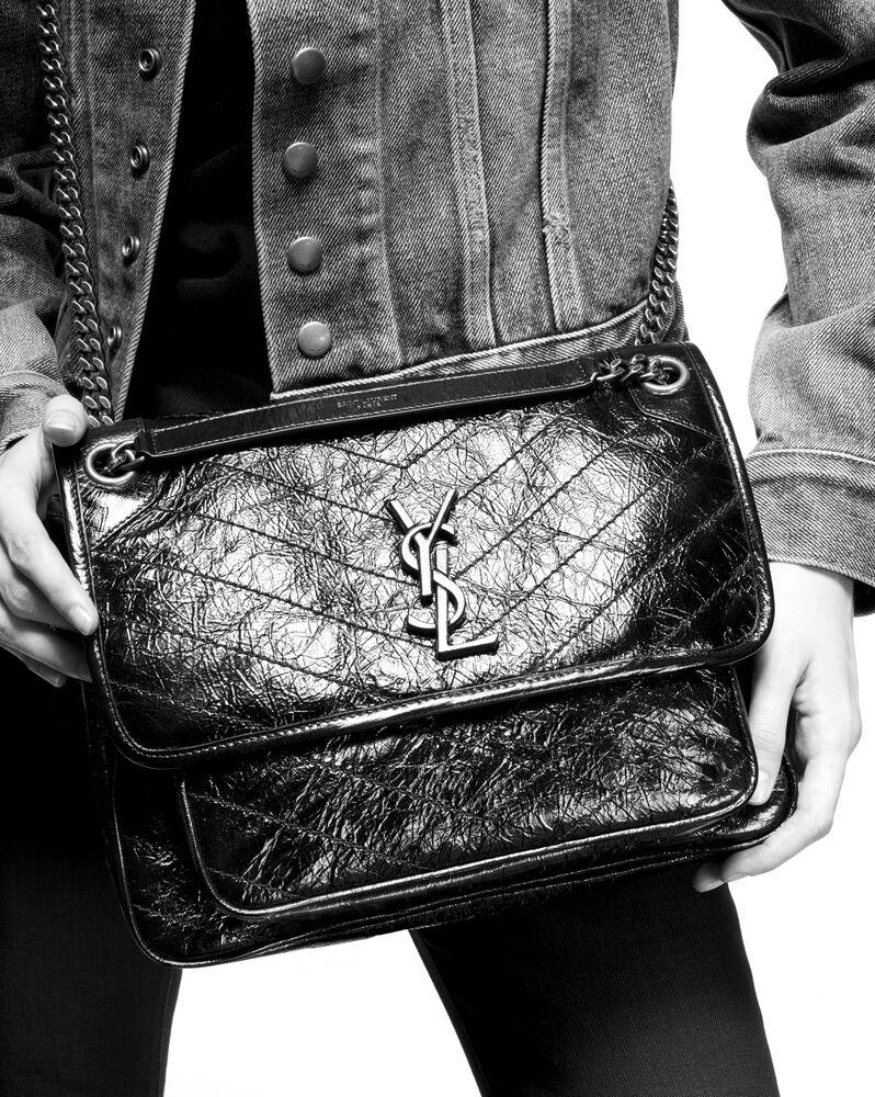 niki medium in crinkled vintage leather