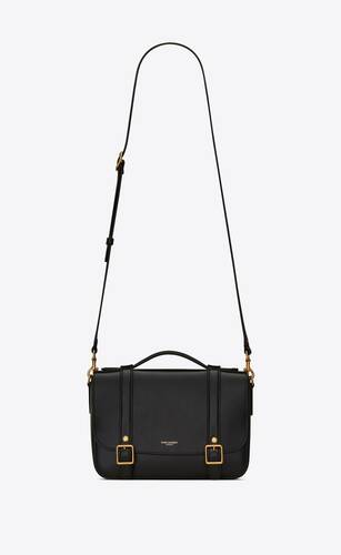 schoolbag mini satchel in shiny leather