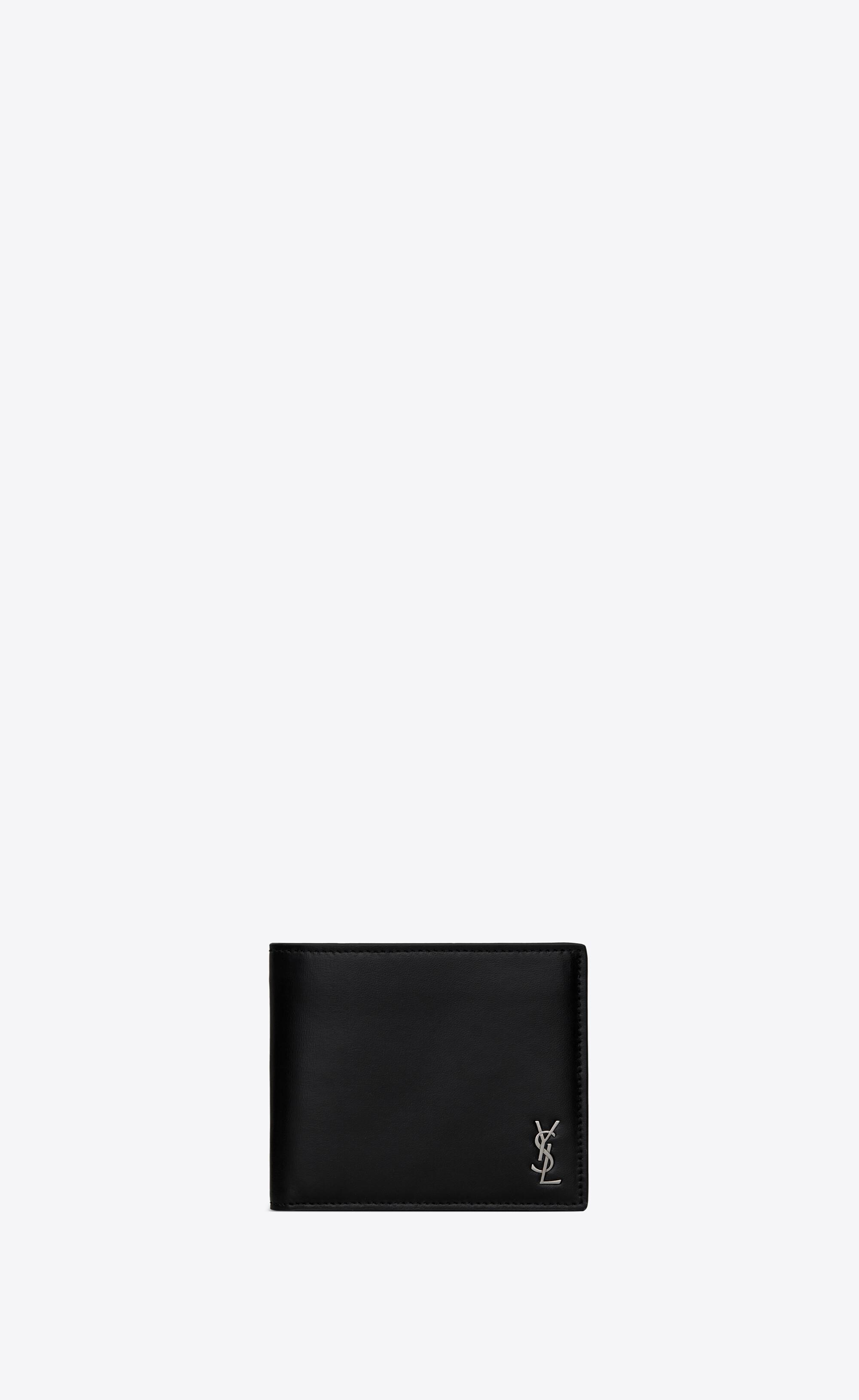 SAINT LAURENT ウォレット タイニーモノグラム E/W の外装画像