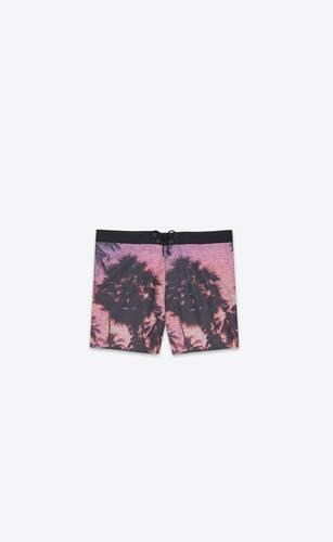 """vhs sunset"" swim shorts"