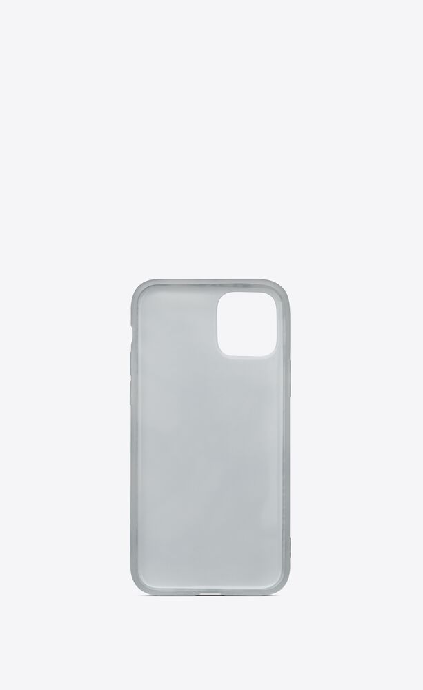 """iphone 12 pro case in """"scandal"""" printed silicone"""
