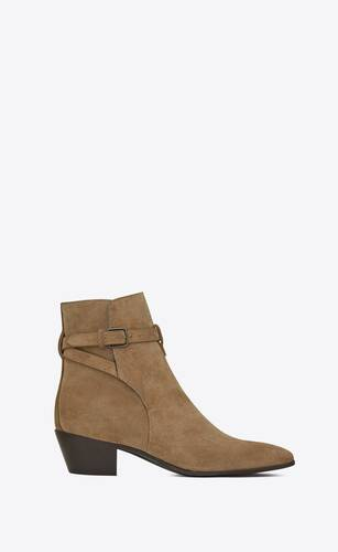 west jodhpur boots in suede