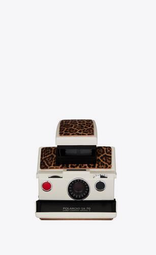 leopard polaroid sx70