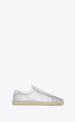 andy sneakers in metallic leather