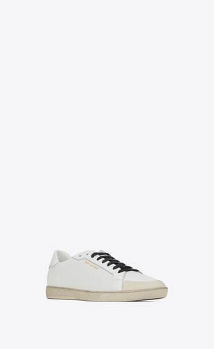 court classic sl/39 sneakers in perforated leather