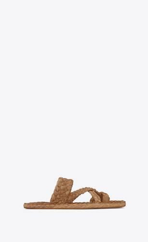 sandali bohdi in paglia intrecciata