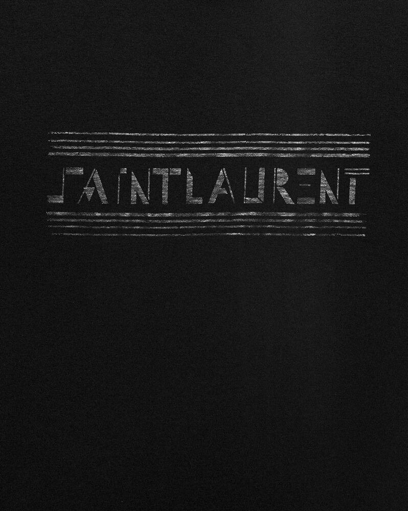 """t-shirt imprimé """"saint laurent bauhaus"""""""