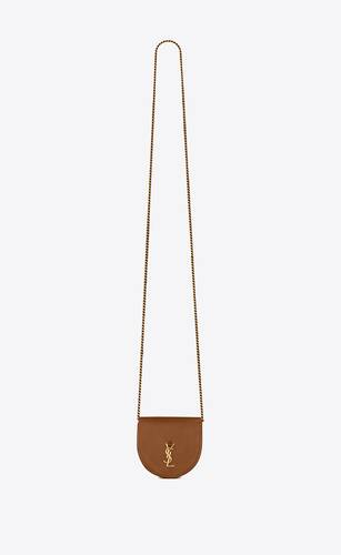 le k baby satchel in smooth leather