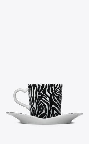 j.l coquet zebra coffee set in porcelain