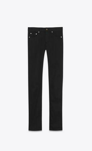 jean skinny stretch worn black