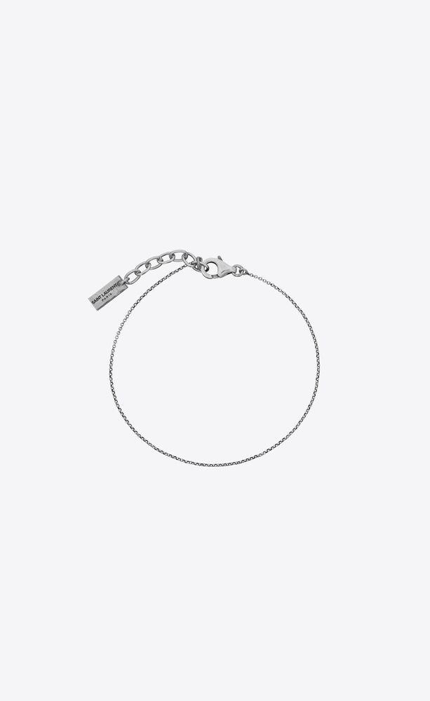 bracelet à fine chaîne en métal