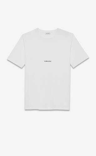 t-shirt saint laurent rive gauche