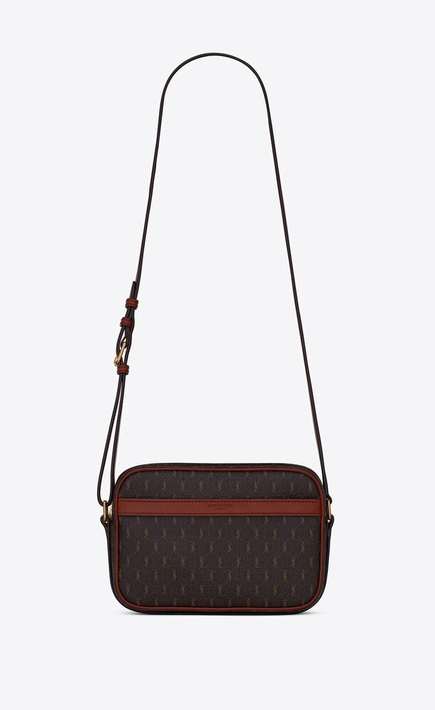 le monogramme camera bag in monogram canvas and smooth leather