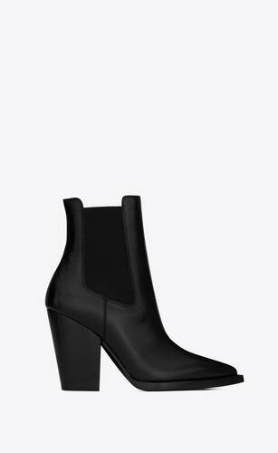 theo chelsea boots in smooth leather
