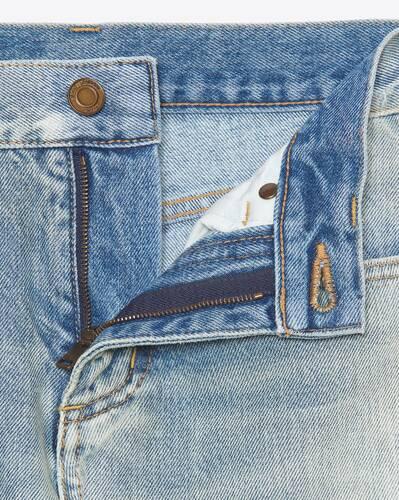 boyfriend jeans in 80's vintage blue denim