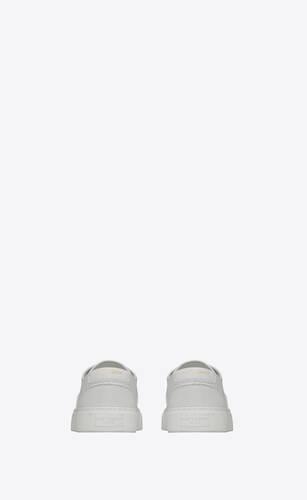 venice sneaker aus perforiertem und genarbtem leder